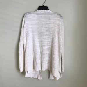 Madewell Sweaters - Madewell White Postscript Open Front Cardigan